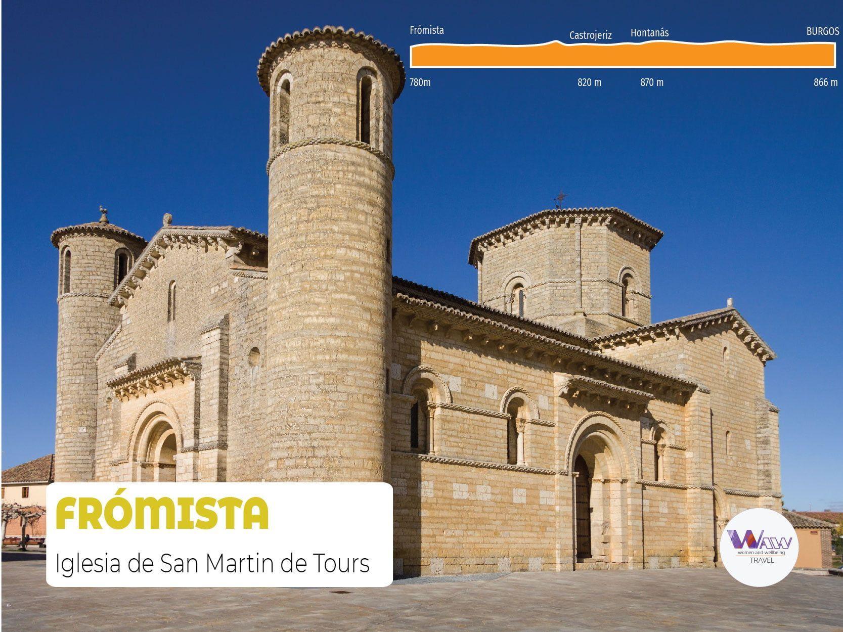 DAG 6 Etappe 5 Burgos - Frómista 70 km