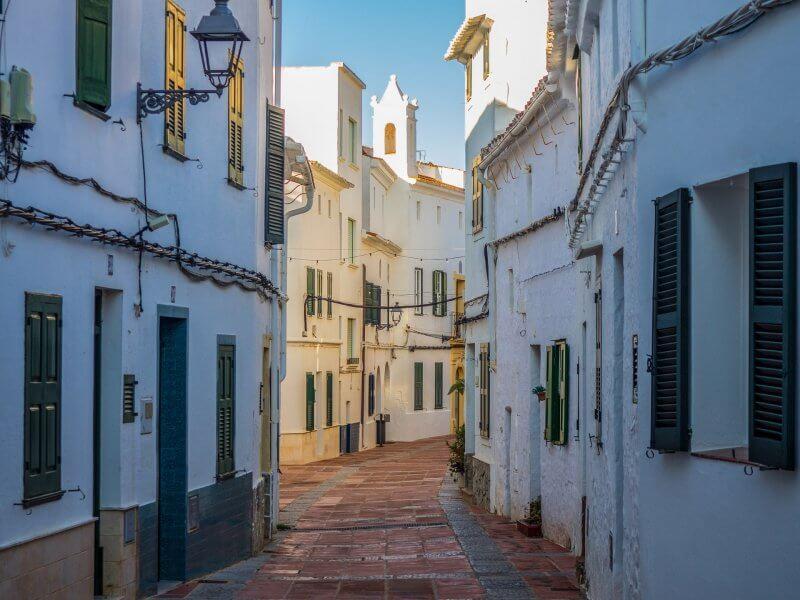 walking around menorca