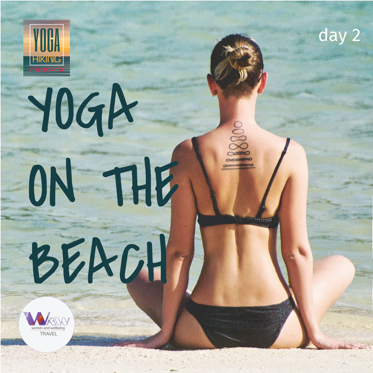 Day 2      Yoga on the beach