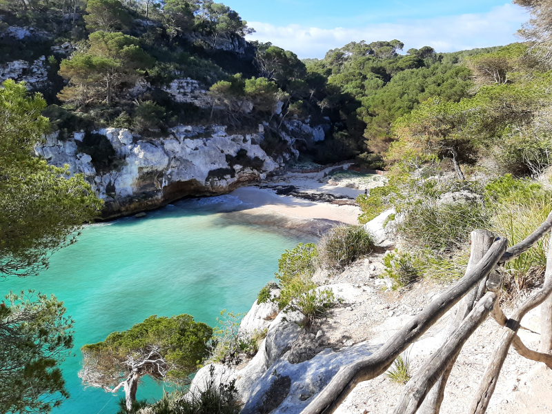 Walking or biking holiday in Menorca with WAW Travel