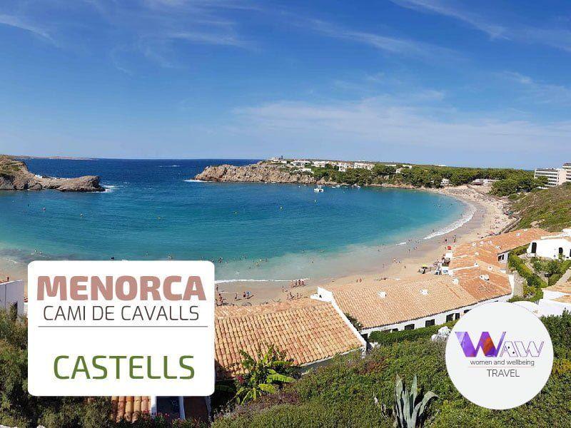 DÍA 3 ETAPA 2 Favaritx - Arenal d'en Castells 13,5 kms