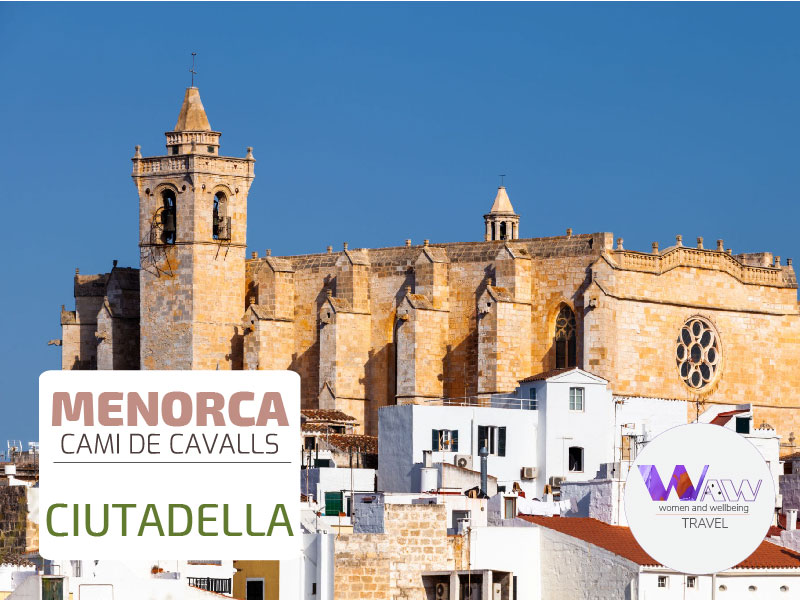 DAY 7  STAGE 6 Cala Morell - Ciutadella 17 kms