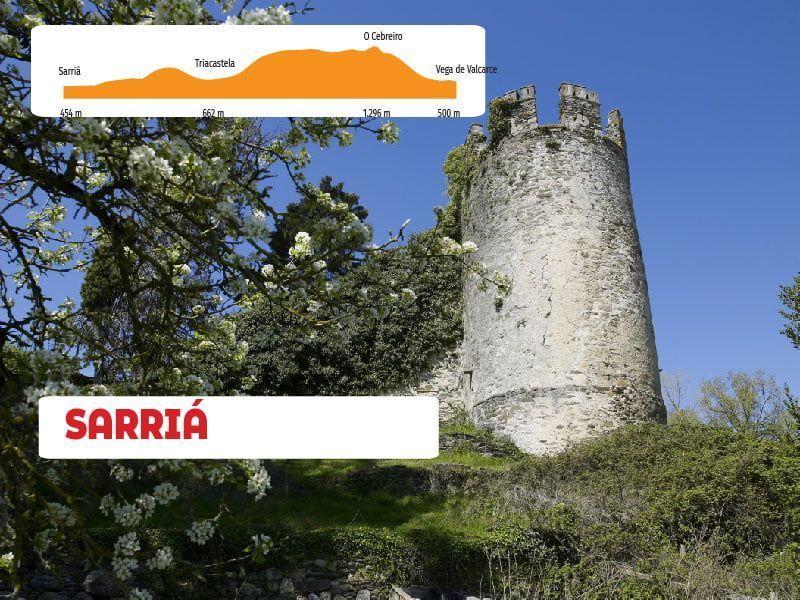 DÍA 5  ETAPA 4 Vega de Valcarce - Sarria 47 km
