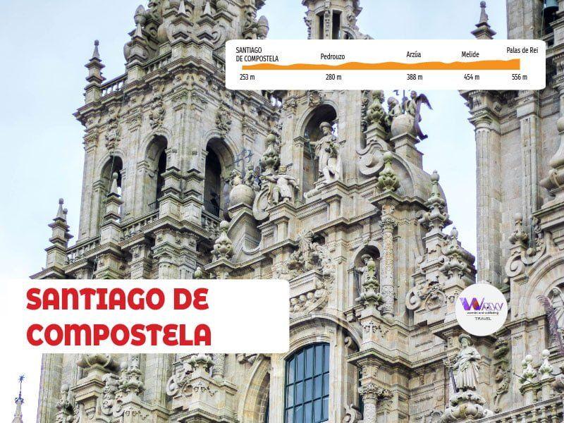 DÍA 7  ETAPA 6 Palas de Rei - Santiago de Compostela 69 km