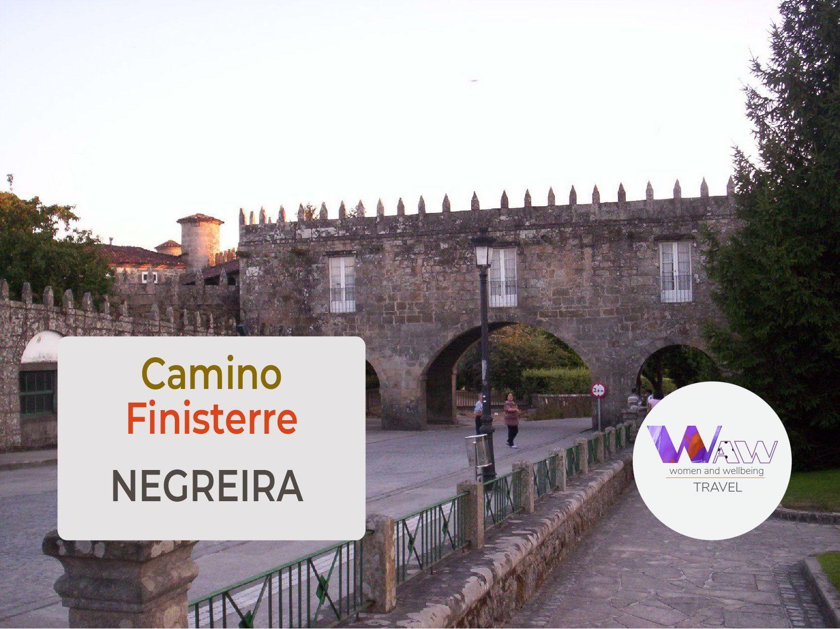 Dag 2 Etappe Santiago de Compostela - Negreira 22 km