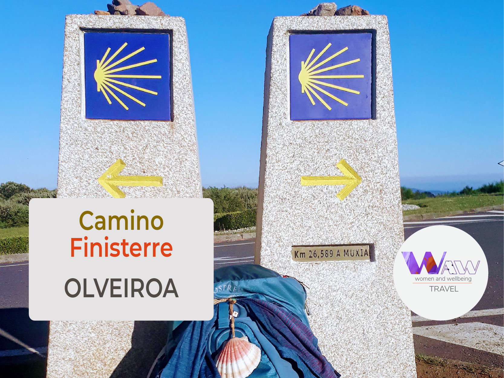 Dag 3 Etappe Negreira - Olveiroa 32 km