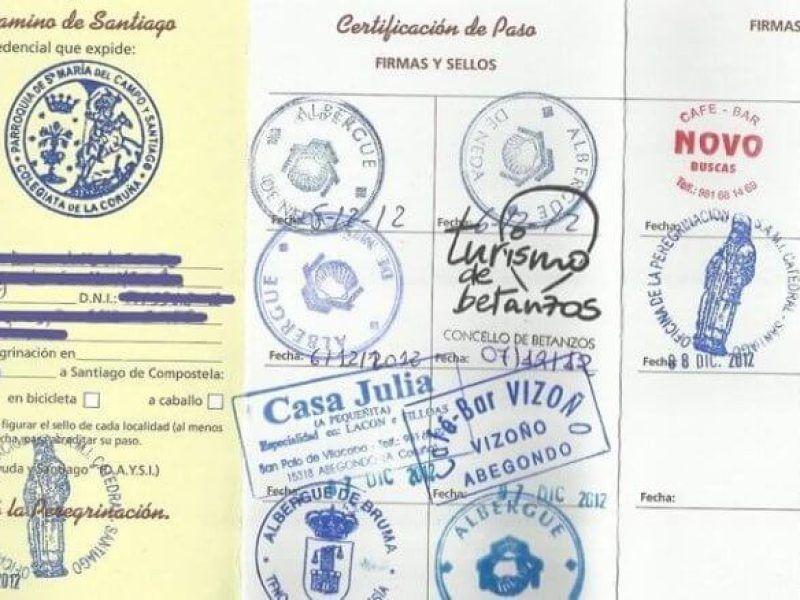 pilgrim passport or credential