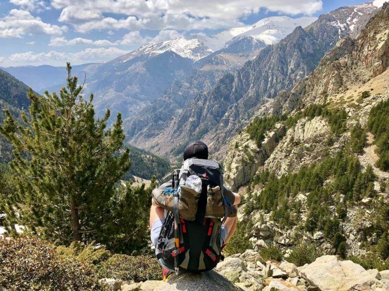 trekking in solitaria